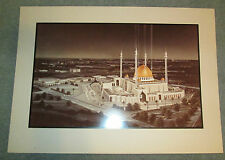 ARCHITECTURAL RENDERING PICTURE of ABUJA National Mosque Nigeria? VGC