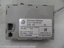 Mercedes W211 E Klasse Zentrales Gateway Steuergerät Modul 2115408445 Facelift