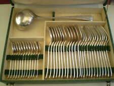 ANCIEN COFFRET MENAGERE 37 PIECES ARGENTERIE 3 POINCONS