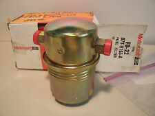 1957 Ford Passenger car & TBird E or F model replacement fuel filter B7T-9155-A