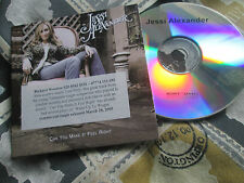 Jessi Alexander Can You Make It Feel Right Sony BMG Music Cdr UKPromo CD Single