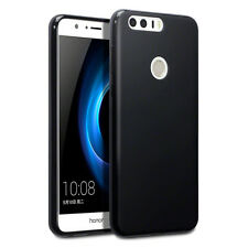 Huawei Honor 8 Case Rock Cover Ultra Hybrid Flex Tech TPU Gel Survival Black