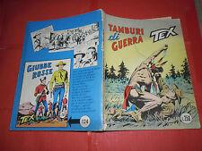TEX GIGANTE da lire 250 in copertina N°123 c-ORIGINALE 1 edizione AUDACE BONELLI