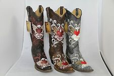 CLEARANCE!! Cowboy Fashion Ladies boots all must GO!! 100 Pair deal Only $4,900