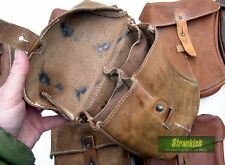 GENUINE CZECH ARMY LEATHER CURVED AMMO MAGAZINE POUCH vz58