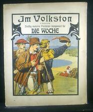 Noten IM VOLKSTON - dreißig moderne preislieder komponiert für Die Woche, 1904
