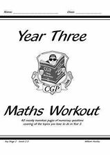 New Key Stage Two KS2 Maths Workout - Year 3 (New Curriculum) - Paperback CGP
