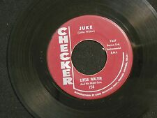 LITTLE WALTER Juke CHECKER hear soundclip!!