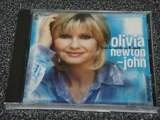 Back with a Heart  by Olivia Newton-John (CD, Oct-1998, MCA Nashville) MINT!