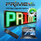 LED Sign Upgrade Option-PC Version with Wired Connection-Operate Sign with a PC