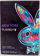 PLAYBOY PLAY BOY NEW YORK 3.4 OZ / 100 ML EDT SPRAY MEN COLOGNE
