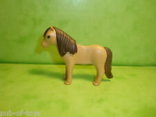 Playmobil: poney brun playmobil / brown pony