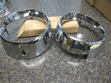 1963 Comet Inner and Outer Headlight Bezels Right Side Very Nice !!