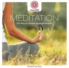 ENTSPANNTSEIN-MEDITATION-DER WEG ZUR INNEREN AUSGEGLICHENHEIT  CD NEU