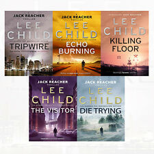 Lee Child Jack Reacher Series 1-5 Collection 5 Books Set Killing Floor, Tripwire