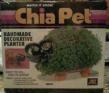 Chia Pet Hippo Decorative Planter Kit 2009Rare and Collectible