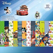BOY DISNEY MEGA 150 Sheet 12X12 Scrapbooking Paper Pad SANDYLION New, SC9606