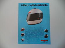 advertising Pubblicità 1987 CASCO KIWI K20