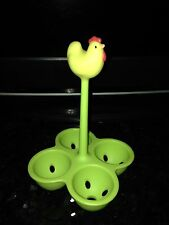 NEW ALESSI Egg Holder Coccodandy Basket yellow green