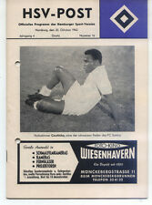 20.10.1962 Hamburger SV - FC Santos, HSV-POST Edition