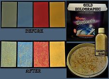 Magic Glitter Wall Paint Emulsion Clear Acrylic Varnish Wallpaper Grout Wood Pro