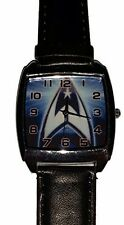 Star Trek Series Command Insignia Leather Watch