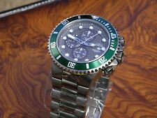 Invicta  Pro Diver Sport Chronograph 200 M Watch ( New with Tag . Green Bezel )