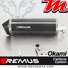 Slip-On Exhaust EEC Remus Carbon Okami Honda CRF 1000 L Africa Twin 16+