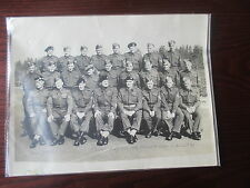 WW2 GROUP PHOTOGRAPH; No.2 CANADIAN GENERAL PIONEER COMPANY NCO's sept 1942