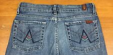 7 For All Mankind Jeans A Pocket Size 27 Women's Stretch