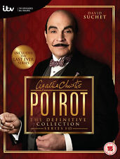 Agatha Christie Poirot Definite Collection Series 1-13 DVD Box Set Complete