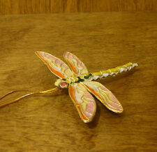 Victorian Treasures #A290-3 Orange/Cream DRAGONFLY, NEW from Retail Shop, MIB