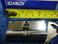 ABLOY PROTEC CY318N EURO PROFILE 30/30 DOUBLE CYLINDER HIGH SECURITY LOCK w/2key
