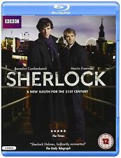 SHERLOCK BBC TV Series Complete Season 1 BluRay Collection+Extras New HOLMES