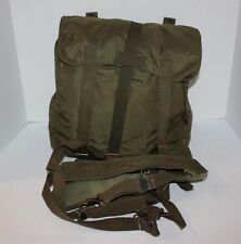 Austrian OD Green Army Military Issue Surplus Butt Pack Day Backpack Hiking BOB
