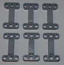 Lego Technic técnica, 6 H-conector #14720 gris claro #40