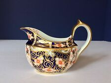 ANTIQUE 1904 ROYAL CROWN DERBY Traditional Imari #2451 CREAMER With MARKS