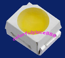 100pcs, White POWER TOP SMD SMT PLCC-2 3528 1210 Super Bright Light LED New