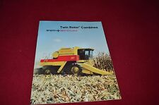 New Holland TR86 TR96 Combine Dealer's Brochure 31008631-3-85 LCOH
