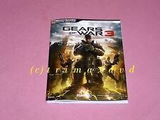 Gears Of War 3 _ Lösungsbuch Strategiebuch _ TOP-Zustand _ 1000 Spiele im SHOP