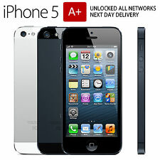 Apple iPhone 5 GRADE AA+ 64GB - BLACK - Factory Unlocked - Excellent Condition