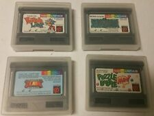 4 Neo Geo Pocket Color Games in SNK Cases Dark Arms Card Fighters clash puzzle