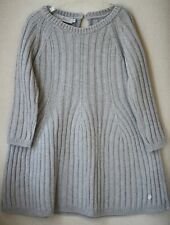 BABY DIOR GIRLS GREY WOOL SILK CASHMERE DRESS 24 MONTHS