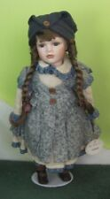 LEONARDO COLLECTOR'S PORCELAIN DOLL - CURTNEY