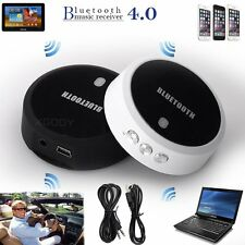 Wireless 3.5mm Bluetooth 4.0 APTX Hands-Free Music Audio Receiver USB Adapter