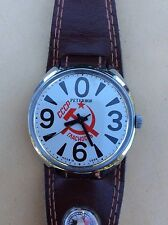 RAKETA PETERHOGLASTNOST PERESTROIKA SOVIET WATCH Big ZERO 2609 Mechanical Wind