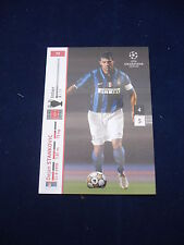 Panini UEFA Champions League card 2007/8 # 72 - Stankovic - Inter