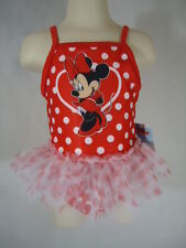 Disney Minnie Infants/Toddler Girl Swimsuit One Piece - Size 24 Months