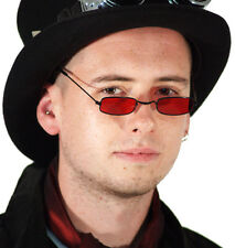 Steampunk-victorian-gothic-halloween-dracula-lord byron-red Demonio specs/glasses