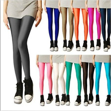 New Ladies Womens Girls Galaxy Skinny Leggings Stretchy Tight Pencil Pants Black